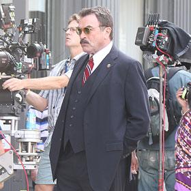 Tom Selleck Films Season 2 Of Blue Bloods