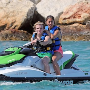 Rocco Ritchie Spends Time With New Girlfriend In France