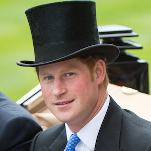 Prince Harry Attends First Royal Ascot Horse Race In Silk