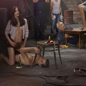 Shia LeBeouf Poses Shirtless For New Film 'Nymphomaniac' [Photo]