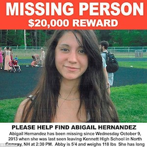Missing New Hampshire Teen Abigail Hernandez Reunited With Family After 9 Months