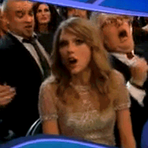 Taylor Swift's Jaw Drops When Album Of The Year Goes To Daft Punk