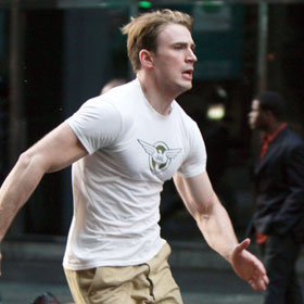 Chris Evans Races To Be Captain America