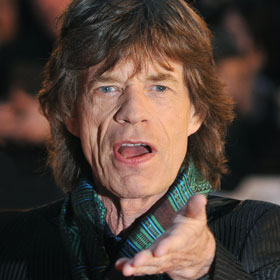 Mick Jagger Still Going Strong At 68