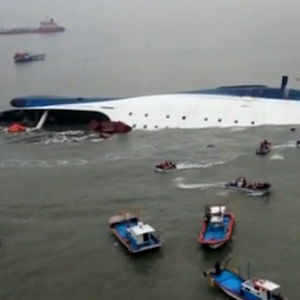 South Korea Ferry Passengers Sent Last-Minute Texts As Vessel Sank