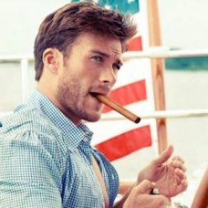 Scott Eastwood Packs On The PDA With Model Brittany Brousseau