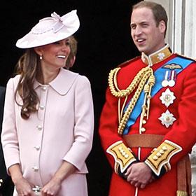 Fake Kate Middleton, Prince William Arrive At Hospital