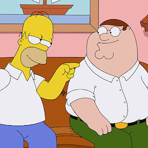 'Simpsons' & 'Family Guy' Crossover Episode Unites Homer With Peter Griffin