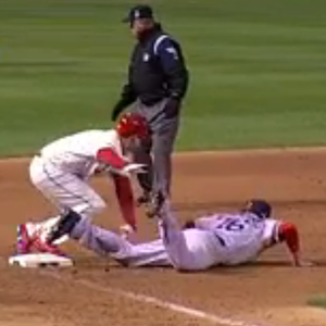 World Series Game Three Ends On Obstruction Call, Game Four On A Pickoff
