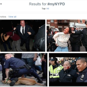 #MyNYPD Campaign Backfires, Exposes Police Misconduct, Brutality