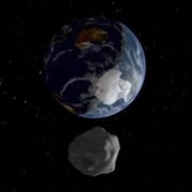 Asteroid Heads Toward Earth, Destined To Miss