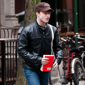 Daniel Radcliffe Takes A 'Business' Break