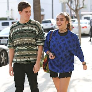 Lourdes Leon Grabs Lunch With Brother And Mystery Boy In Beverly Hills