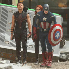 The Avengers Shoot On Location In New York