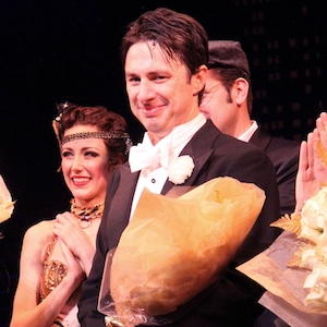 Zach Braff Makes Broadway Debut In 'Bullets Over Broadway'