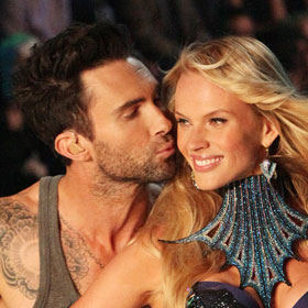 Adam Levine Serenades His 'Angel'