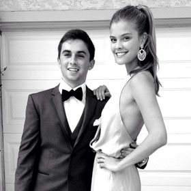 Nina Agdal Subs In For Kate Upton As Jake Davidson's Prom Date