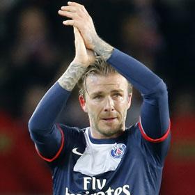 David Beckham Sheds Tears At Final Home Match