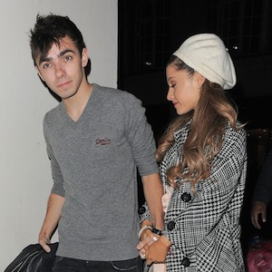 Ariana Grande & Nathan Sykes Dine Out
