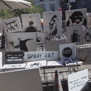 Banksy Sells Original Works Anonymously For $60 Each; Only Three Customers Buy Artwork