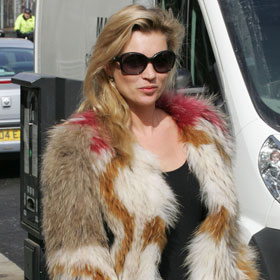 Kate Moss Steps Out In Style