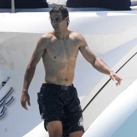 Rafael Nadal Hits Mediterranean After Loss