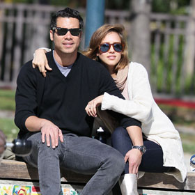 Jessica Alba's Day At The Park