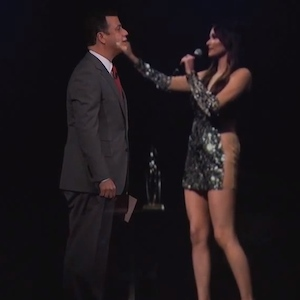 Kacey Musgraves Appears On 'Jimmy Kimmel Live' Via Hologram