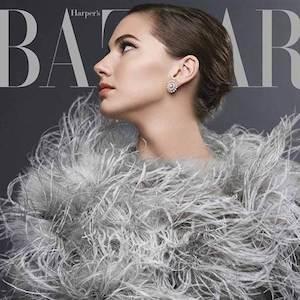 Emma Ferrer Makes Modeling Debut Channeling Grandmother Audrey Hepburn On 'Harper's Bazaar' Cover