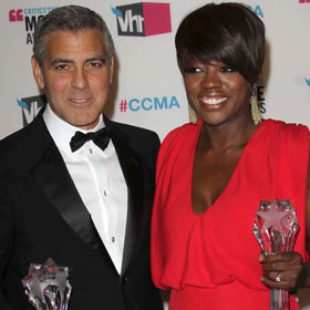 Viola Davis, George Clooney Win Critics' Choice Awards