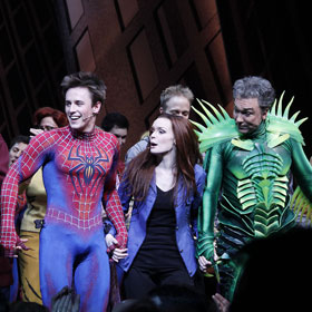 'Spider-Man' Hunk Reeve Carney Takes A Bow