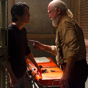 'The Walking Dead' Recap: Chaos Ensues Among The Quarantined; The Governor Is Back