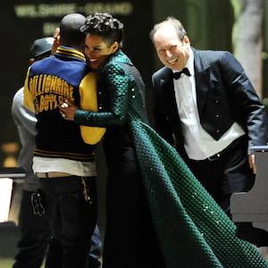 Alicia Keys, Pharrell Williams & Hans Zimmer Film 'It's On Again' Music Video