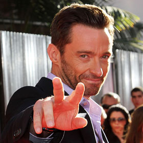 Hugh Jackman Attends 'Real Steel' Premiere