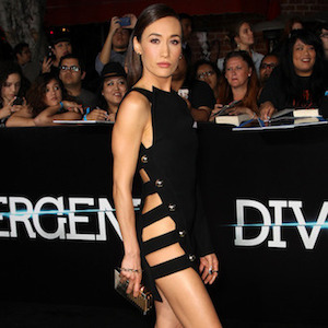 Maggie Q's Barely-There 'Divergent' Premiere Dress Causes Stir