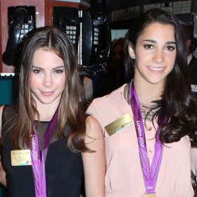 'Fab Five' Gymnasts McKayla Maroney And Aly Raisman Injured During Post-Olympic Performance