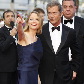 Jodie Foster And Mel Gibson Get Standing Ovation At Cannes Film Festival