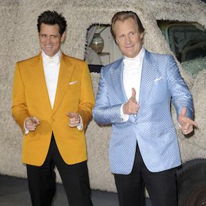 Jim Carrey And Jeff Daniels Attend 'Dumb & Dumber To' Premiere