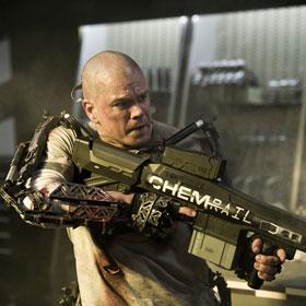 Matt Damon Gets Ripped For 'Elysium'