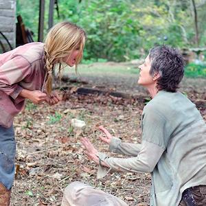 'The Walking Dead' Recap: Lizzie Kills Her Sister, Carol Puts Lizzie Down