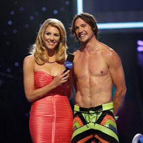 Rory Bushfield Defeats Nicole Eggert, Drake Bell To Win 'Splash' [Video]