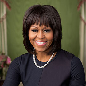 Michelle Obama Confronts Heckler Ellen Sturtz At Democratic Party Fundraiser