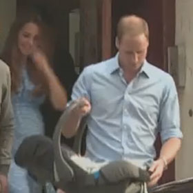 Did Prince William & Kate Middleton Safely Strap Prince George Into His Car Seat?