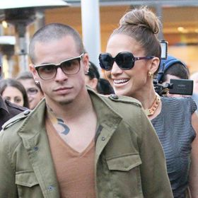 J.Lo And Shirtless Casper Smart Dress Up For Halloween