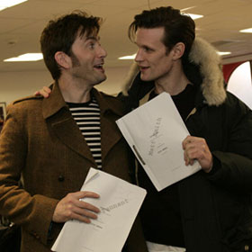 David Tennant Loved Working With Matt Smith In 'Doctor Who' 50th Anniversary Special