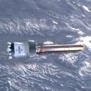 Satellite Headed Towards Earth Incinerates Upon Entering Atmosphere