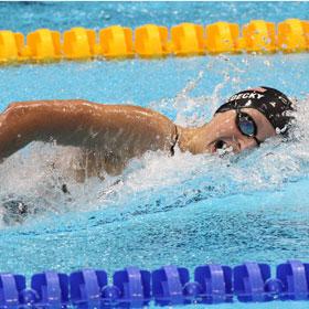 Swimmer Katie Ledecky, 15, Breaks World Record, Wins Gold