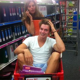 PHOTO: Patrick Schwarzenegger Goes Back-To-School Shopping