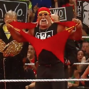 Hulk Hogan Celebrates His Birthday On WWE's 'Monday Night Raw' With NWO