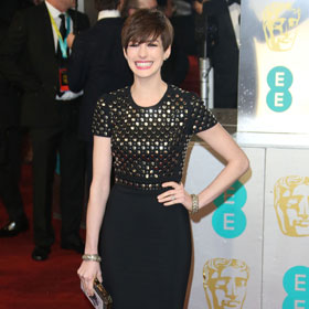 Best-Dressed Of The BAFTAs Slideshow: Jessica Chastain, Anne Hathaway, Jennifer Lawrence